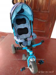 Трехколесный детский велосипед