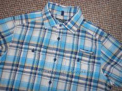 Рубашка Next на мальчика с коротким рукавом на 12 - 13 лет