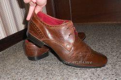 Туфли броги натуральная кожа. Размер 43