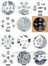 Продам набор дисков 12 шт. для стемпинга Hehe.