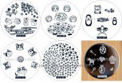 Набор 6шт. диски для стемпига hehe