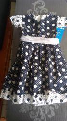 Нарядное платье р. 98 Польша