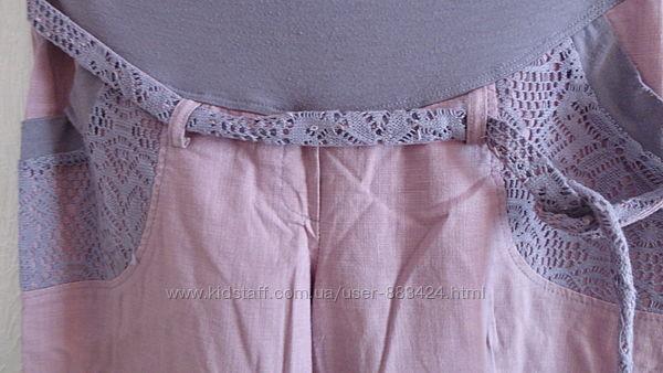 легкие штаны для будущих мам