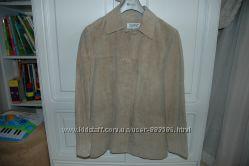 Esprit новый замшевый пиджак куртка L