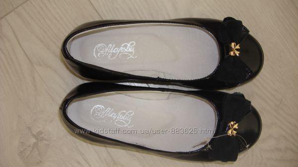 Новые  кожаные туфли Мальвы, стелька 19, 5см