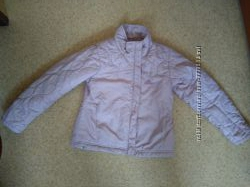 Деми куртка Adidas на девочку 5-7лет