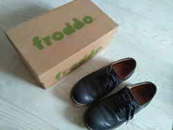 Кожаные туфли-броги Froddo на мальчика, разм.33, стелька 21см