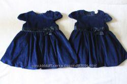 Платья для близняшек двойняшек на 1-3 года 80-98 см.