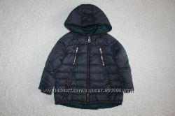 Двусторонняя куртка фирмы zara на 4-5 лет 110 см.