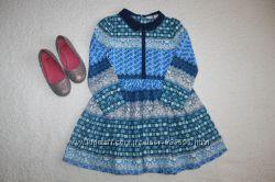 Платье, сарафаны, туники, ромперы на девочку 6-9 лет. 116-134 см. часть 5