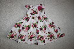 Наше любимое мега крутое платье фирмы monsoon на 2-4 года.