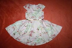 Платье, сарафаны, туники, ромперы на девочку 6-9 лет. 116-134 см. часть 7