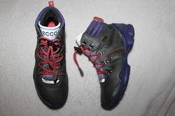Кожаные демисезонные ботинки фирмы Ecco 31 размера по стельке 20 см.