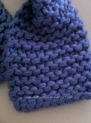 Теплый сиреневый шарф Next