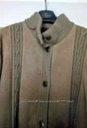 Куртка - кардиган шерсть Франция