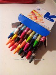 Восковые карандаши Crayons Classic color США, аналог Крайола