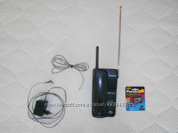 Радиотелефон Panasonic KX-TC1205RUB. С новой батареей.