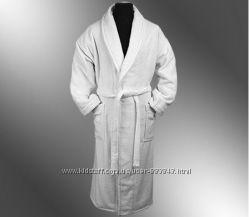 Халаты махровые белые. Доставка.