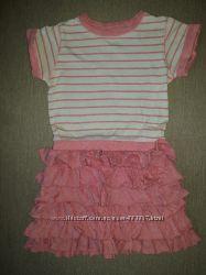 Модное платье Next Англия, 2-3 года рост 98 см