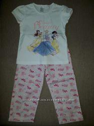 Летняя пижама Zara, 2-3 года 98 см