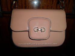 стильная сумочка, цвет пудровый