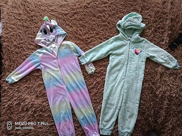 Пижамы - кигуруми на рост 104