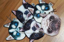 Милий гаманець собачка  собака з 3d прінтом хаскі