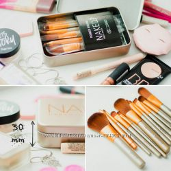 Профессиональные кисти для макияжа naked3 12 штук