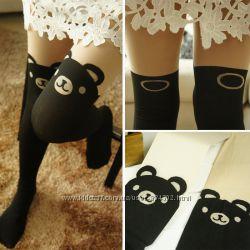 Стильные колготки пандочки панда