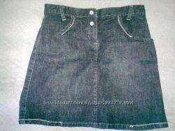 Продам фирменную джинсовую юбочку Naf-Naf в отл. сост. 3 гольфика в подарок