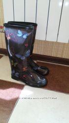 Продам стильні жіночі гумові чоботи Аlisa line 37 розмір