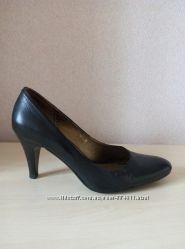 Шикарные кожаные туфли, р. 36 большeмeрки