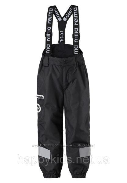 Демисезонные брюки на подтяжках Reimatec. Размеры 80 - 140