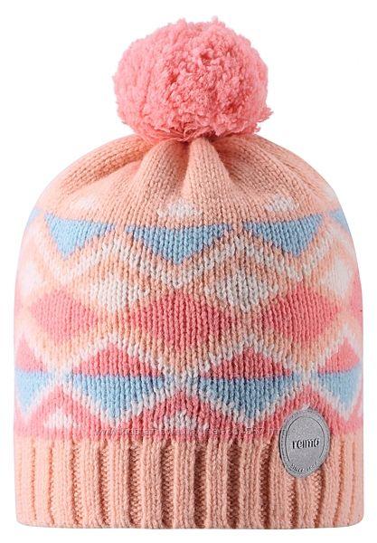 Зимняя шапка для девочки Reima. Размеры 48-58