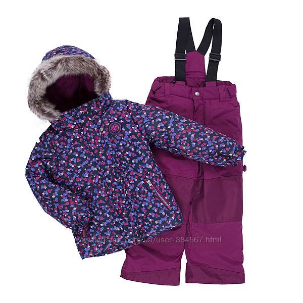 Зимние термокомплекты для девочек Peluche & Tartine, Канада. Разм 98-134см