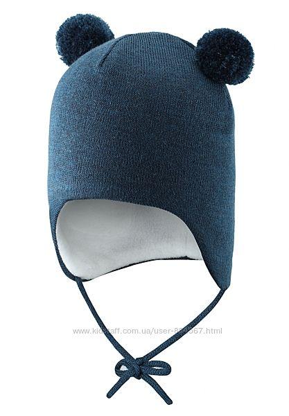 Зимняя шапка для мальчика Lassie. Размеры 38-52