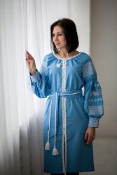 Нежное женское платье - вышиванка