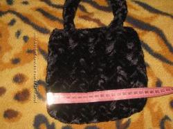 Плюшевая сумочка, новая