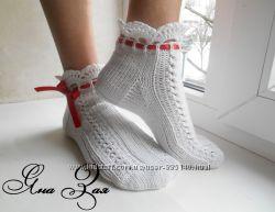 Ажурные носки Рафаэлло