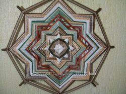 Плетеная мандала