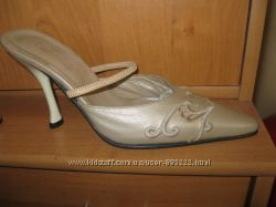 новые элегантные босоножки Franca с вышивкой производство Италия