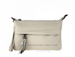 Кросс боди   из натуральной кожи  Diva&acutes Bag  made in Italy
