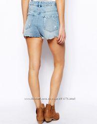 джинсовые шорты асос, 8