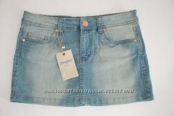 Джинсовая мини юбка Jennyfer размер 38