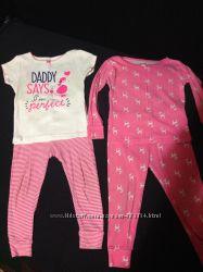2 пижамы Carters 24 м.