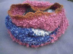 Снуд-шарф в стиле БОХО