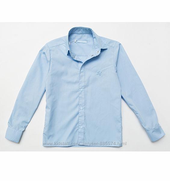 Рубашка для мальчика однотонная на кнопках OR7-10-2