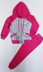 Спортивные костюмы теплые для девочек PVL