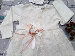 Нарядное детское платье пышное