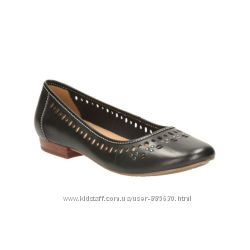 Новые кожаные балетки Clarks 37 размера Великобритания